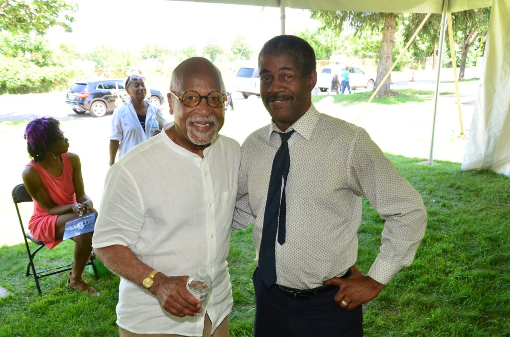 Marvin Anderson at a summertime event in Rondo